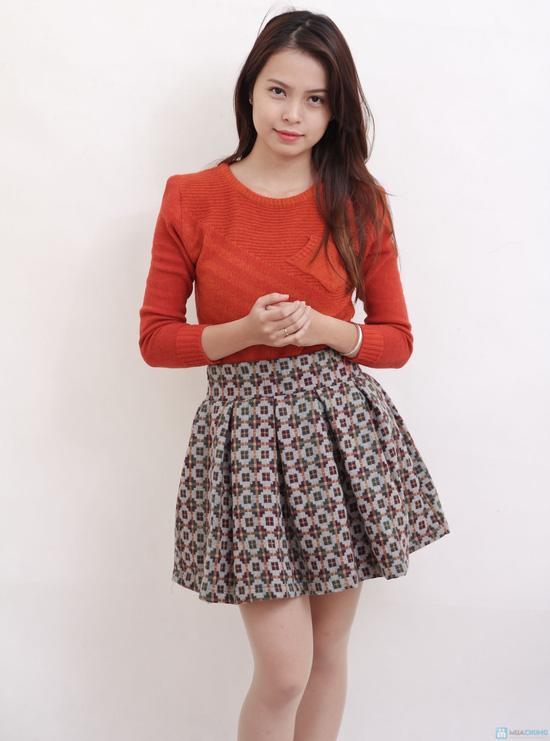 Chân váy dạ xòe Hàn Quốc - Chỉ với 145.000đ - 4