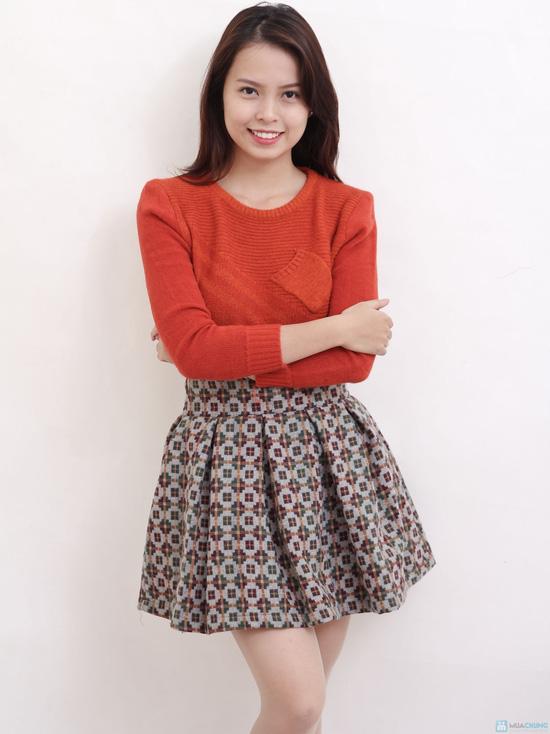 Chân váy dạ xòe Hàn Quốc - Chỉ với 145.000đ - 5