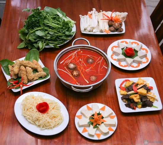 Set ăn tại Cơm chay Hồ Tây dành cho 03 - 04 người. Chỉ 94.000đ - 1