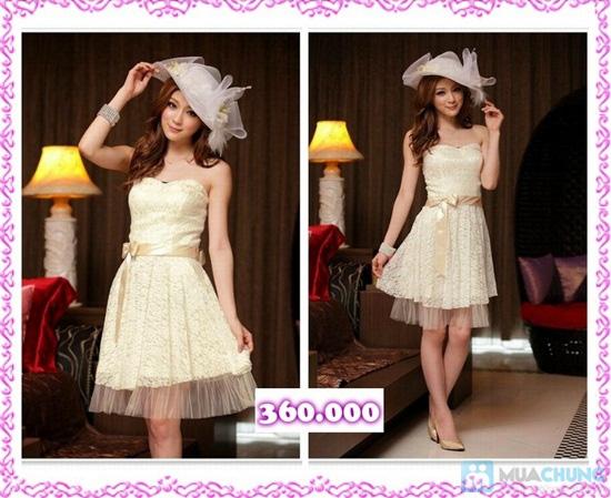 Phiếu mua đầm xòe công chúa và đầm cưới ngắn chụp ngoại cảnh tại Shop LILYKISS - Chỉ 85.000đ được phiếu 200.000đ - 17
