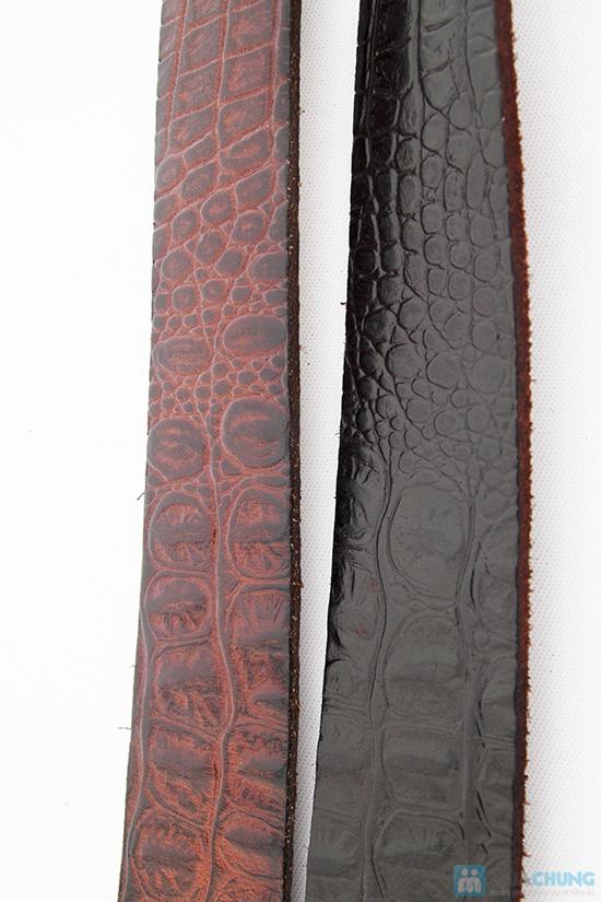 Thắt lưng nam da thật vân cá sấu - Chỉ 390.000đ/chiếc - 7