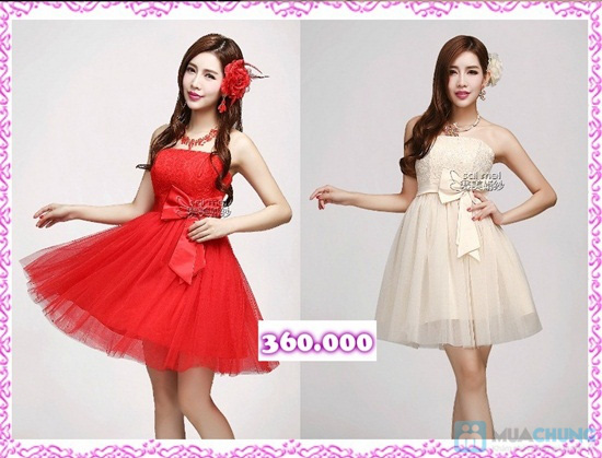 Phiếu mua đầm xòe công chúa và đầm cưới ngắn chụp ngoại cảnh tại Shop LILYKISS - Chỉ 85.000đ được phiếu 200.000đ - 15