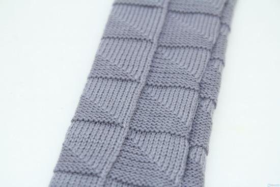 Găng tay len dài hở ngón - 1