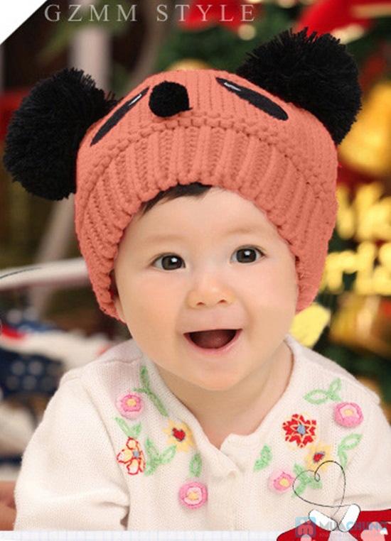 Nón len hình gấu cực yêu cho bé - Chỉ 75.000đ - 7