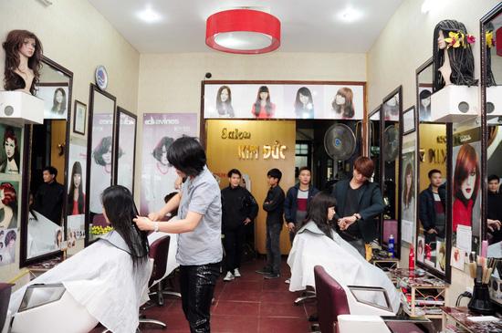 Lựa chọn 01 trong 03 gói dịch vụ làm tóc Cắt + Nhuộm hoặc Cắt + Ép hoặc Cắt + Uốn tại Salon tóc Kim Đức - Chỉ với 550.000đ - 6