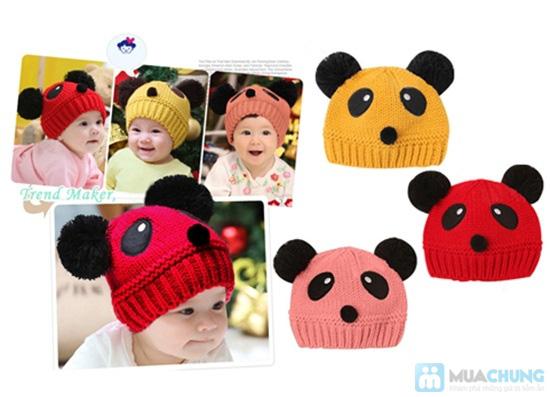 Nón len hình gấu cực yêu cho bé - Chỉ 75.000đ - 6