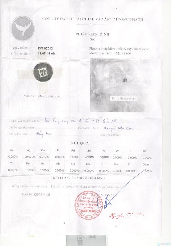 Đồng xu đánh gió bạc 925- Chỉ 130.000đ/chiếc - 1