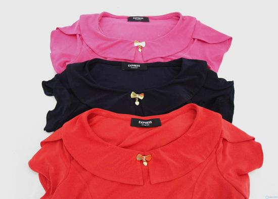 Đầm thun tay cánh hồng xinh xắn - Cho bạn gái thêm lựa chọn khi xuống phố - Chỉ 135.000đ/01 chiếc - 1