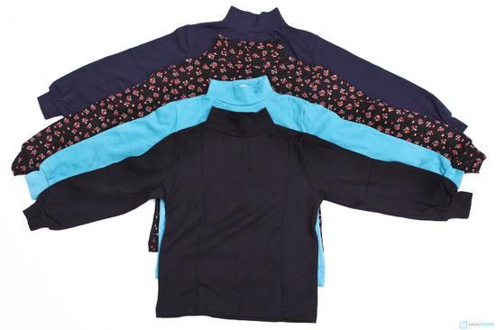 Combo 2 áo cổ lọ cotton - 2