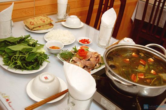 Lựa chọn 1 trong 2 set ăn lẩu cá kèo, lẩu cá tầm tại Nhà hàng chả cá Hà Nội - Chỉ 168.000đ - 1