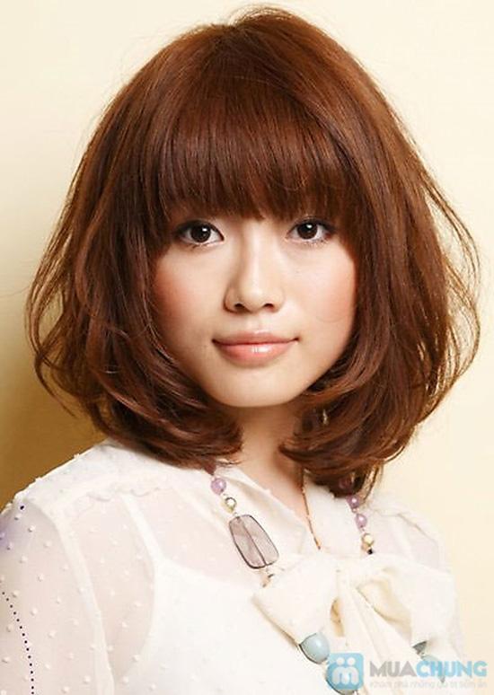 Lựa chọn 01 trong 03 gói dịch vụ làm tóc Cắt + Nhuộm hoặc Cắt + Ép hoặc Cắt + Uốn tại Salon tóc Kim Đức - Chỉ với 550.000đ - 2