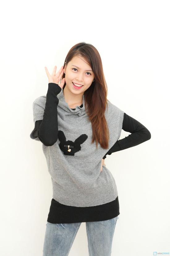 Combo 2 áo len kết hợp- hàng test - 5