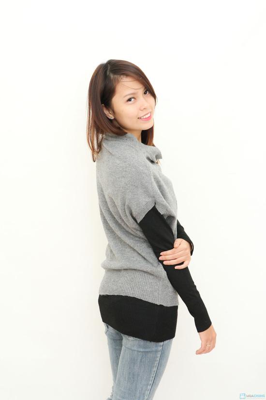 Combo 2 áo len kết hợp- hàng test - 4