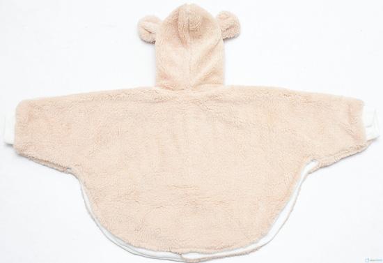 Áo choàng lông cánh dơi cho bé - 4