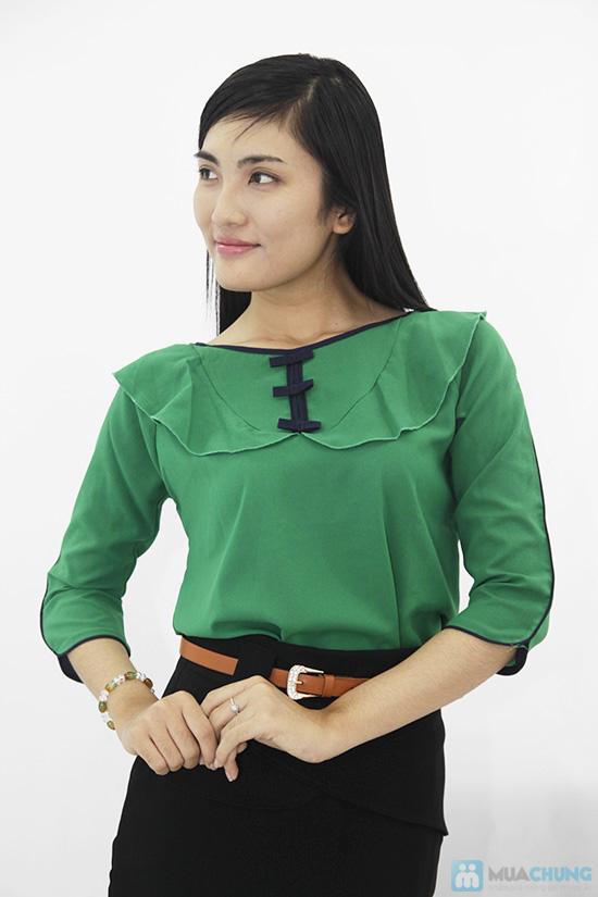 Trẻ trung và nữ tính với áo voan cổ bèo dành cho bạn gái - Chỉ 120.000đ/01 chiếc - 6