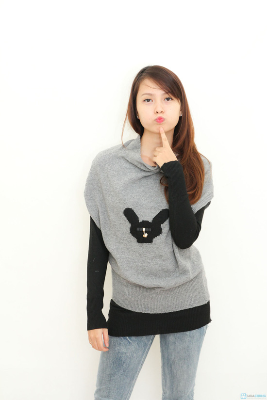 Combo 2 áo len kết hợp- hàng test - 2