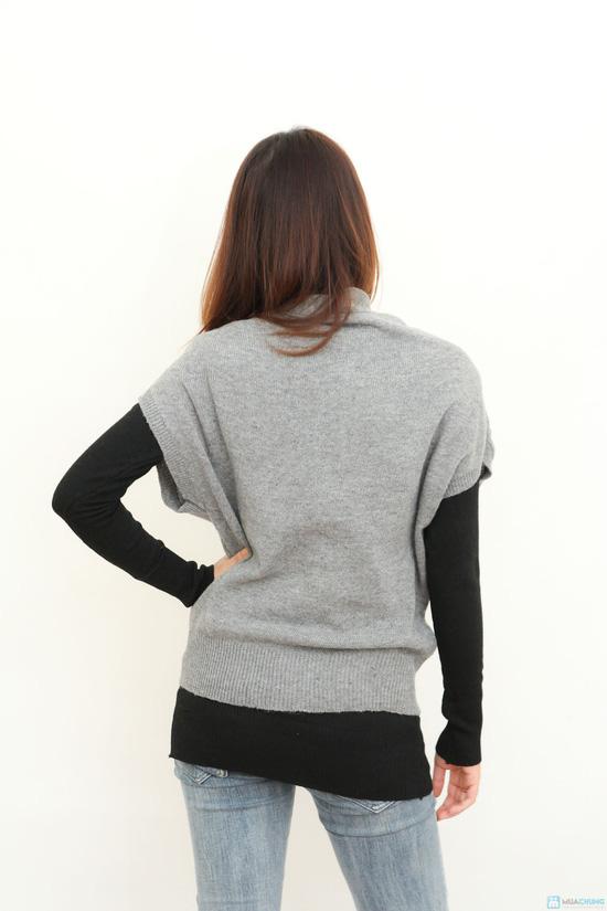Combo 2 áo len kết hợp- hàng test - 3