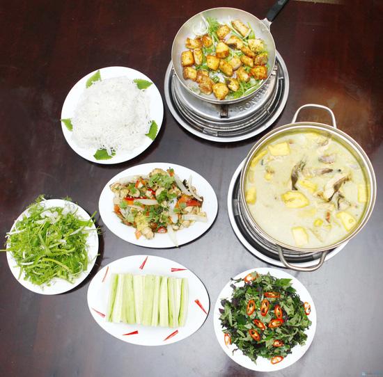 Set ăn cho 03 - 04 người tại Quán Bắc - 1