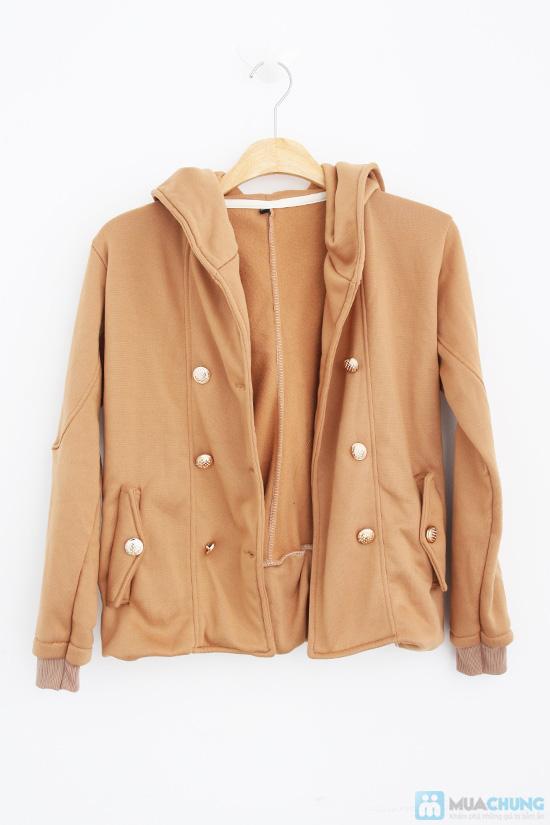 Áo khoác cài nút ấm áp, cho bạn gái thêm xinh xắn, nổi bật - Chỉ 115.000đ/01 chiếc - 1