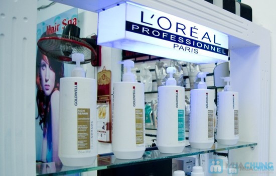 Cho mái tóc óng mượt với dịch vụ hấp dầu bằng sản phẩm Panola tại Salon tóc Style Việt - Chỉ 50.000đ - 7