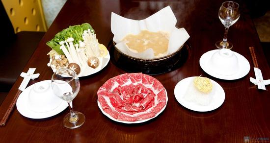 Lẩu bò Mỹ tại nhà hàng Wa Japanese Cuisine. Chỉ 233.000đ - 1