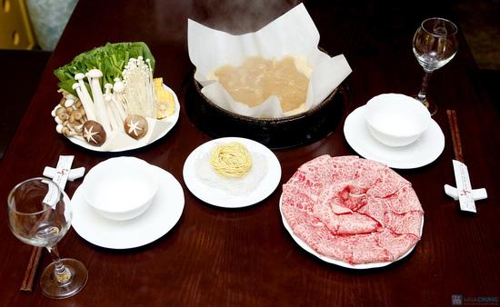 Lẩu bò Nhật Wagyu tại nhà hàng Wa Japanese Cuisine. Chỉ 779.000đ/04 người - 1