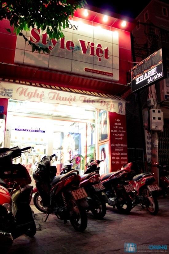 Cho mái tóc óng mượt với dịch vụ hấp dầu bằng sản phẩm Panola tại Salon tóc Style Việt - Chỉ 50.000đ - 11