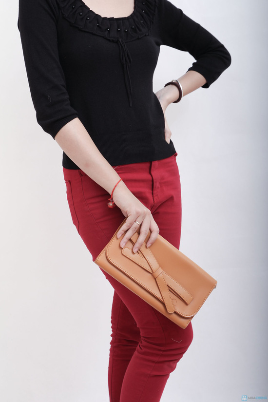Túi đeo nơ nhiều màu, xinh xắn tiện dụng cho bạn gái - 5