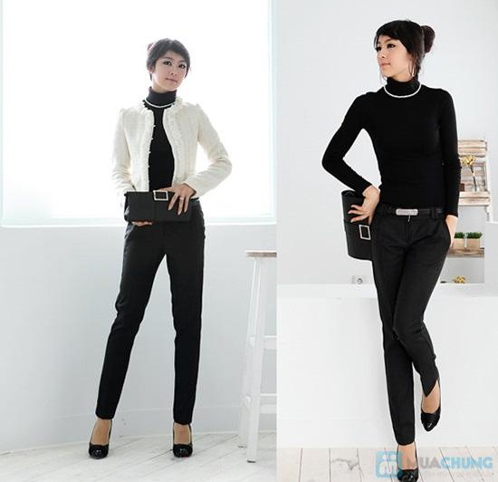 Ấm áp và phong cách với áo len cổ lọ tay dài cho nữ - Chỉ 92.000đ/01 chiếc - 2