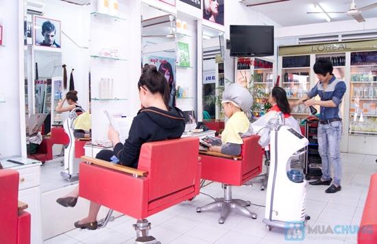 Cho mái tóc óng mượt với dịch vụ hấp dầu bằng sản phẩm Panola tại Salon tóc Style Việt - Chỉ 50.000đ - 1