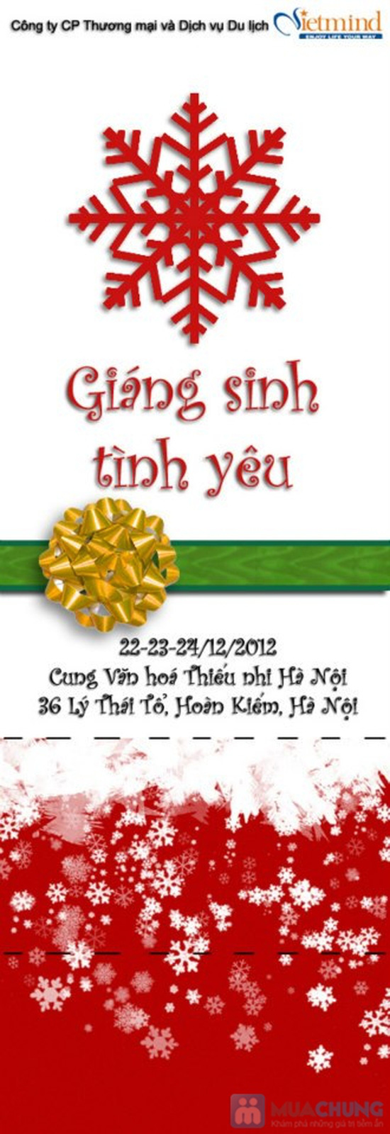 """CÔNG VIÊN """"GIÁNG SINH TÌNH YÊU"""" 2012 - 2"""