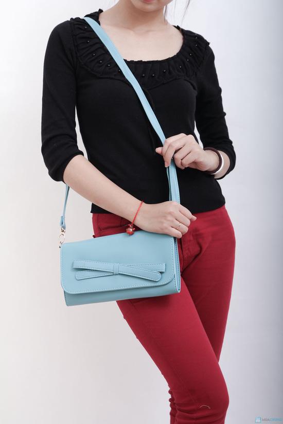 Túi đeo nơ nhiều màu, xinh xắn tiện dụng cho bạn gái - 2