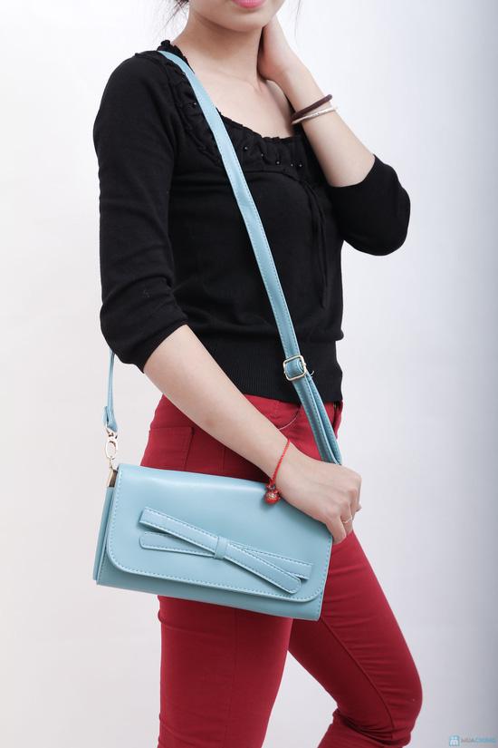 Túi đeo nơ nhiều màu, xinh xắn tiện dụng cho bạn gái - 1