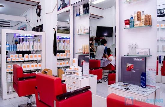 Cho mái tóc óng mượt với dịch vụ hấp dầu bằng sản phẩm Panola tại Salon tóc Style Việt - Chỉ 50.000đ - 4