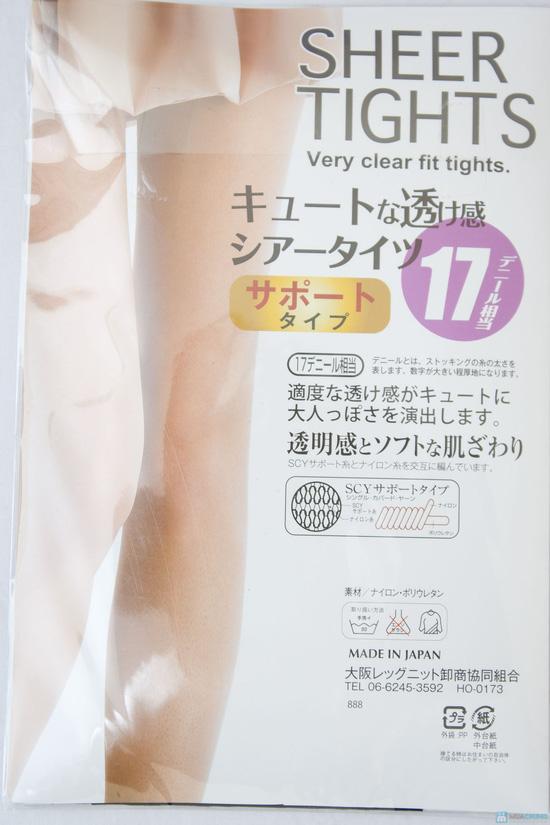 Quần tất chống xước Nhật Bản 17 Denier - Made in Japan - Chỉ với 145.000đ - 3