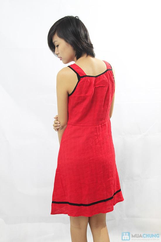 Đầm đỏ sát nách - Thoải mái khi ở nhà - Chỉ 80.000đ/ 01 chiếc - 4