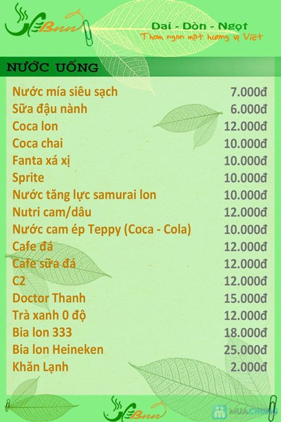 Set ăn 2 tô bánh canh chả cá + 2li nước mía dành cho 02 người tại Bánh canh chả cá BNN - Chỉ 45.000đ - 9