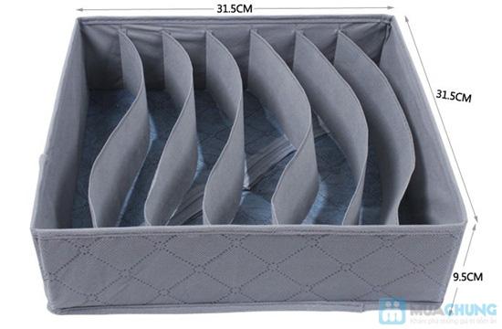 Hộp đựng đồ lót bằng vải xinh xắn, nhỏ gọn, tiện dụng - Chỉ 75.000/ 03 chiếc - 3