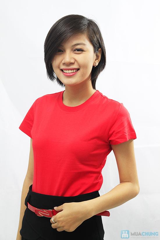 Áo thun nhiều màu - mang lại nét trẻ trung, năng động cho bạn gái - Chỉ 49.000đ - 2
