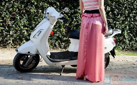 Váy chống nắng - Giúp bảo vệ đôi chân bạn gái khi đi xe máy - Chỉ 65.000đ/01 chiếc - 4