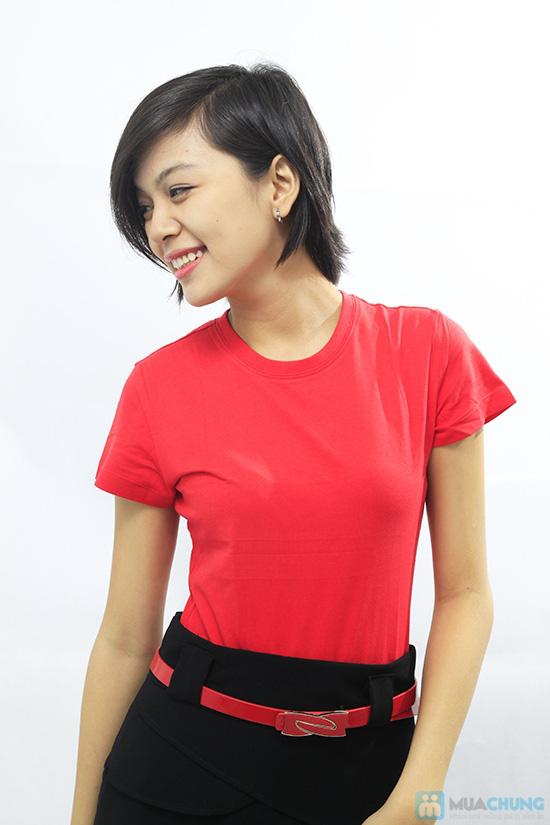 Áo thun nhiều màu - mang lại nét trẻ trung, năng động cho bạn gái - Chỉ 49.000đ - 5