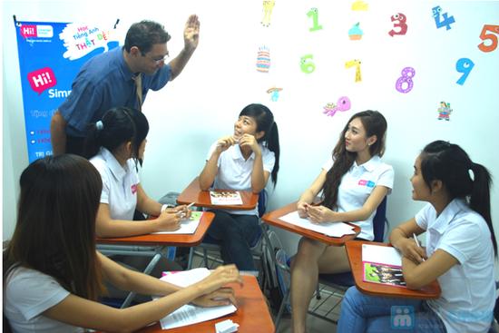 Khóa học Hi! TOEIC hoặc Hi! Connect + Thực hành đề thi TOEIC tại Trung Tâm Anh Ngữ Hi! Language School- Chỉ 100.000đ được phiếu 4.100.000đ - 3