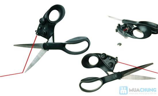 Kéo cắt laser - giúp bạn cắt thẳng mà không cần đo trên nhiều chất liệu - Chỉ 69.000đ/ 01 chiếc - 2
