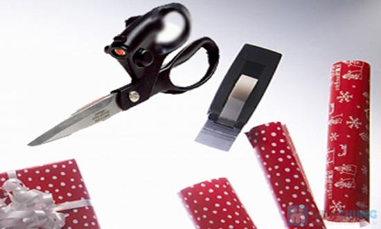 Kéo cắt laser - giúp bạn cắt thẳng mà không cần đo trên nhiều chất liệu - Chỉ 69.000đ/ 01 chiếc - 1