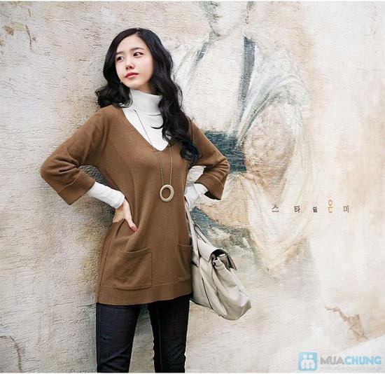 Cho bạn thật phong cách và sành điệu với áo cổ lọ vạc bầu tay dài cho nữ - Chỉ 85.000đ/01 chiếc - 1