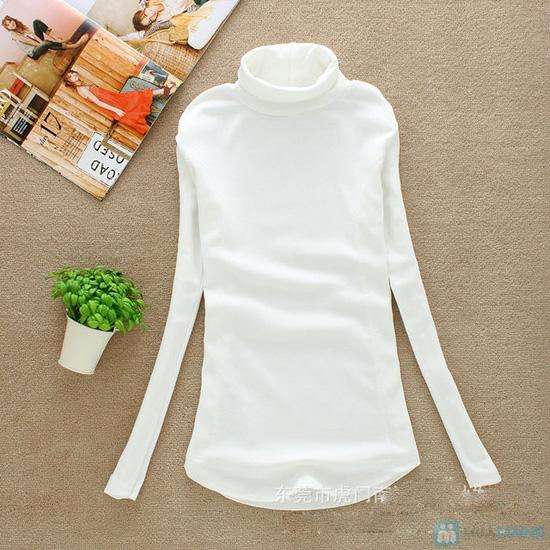 Cho bạn thật phong cách và sành điệu với áo cổ lọ vạc bầu tay dài cho nữ - Chỉ 85.000đ/01 chiếc - 3
