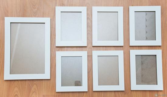 Combo 7 khung tranh: 6 khung (13x18) và 1 khung (20x30) - 1
