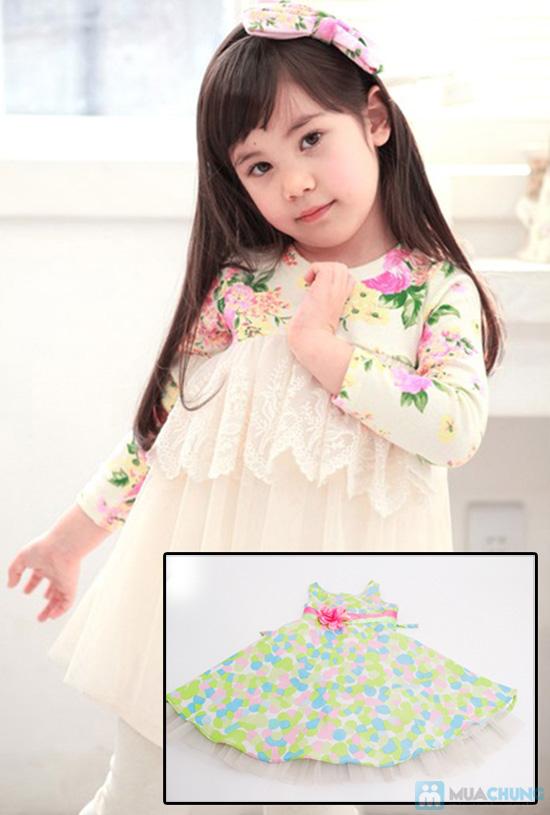 Đầm xinh cho bé -  Cho bé yêu nhà bạn xinh càng xinh thêm - Chỉ 85.000đ - 1