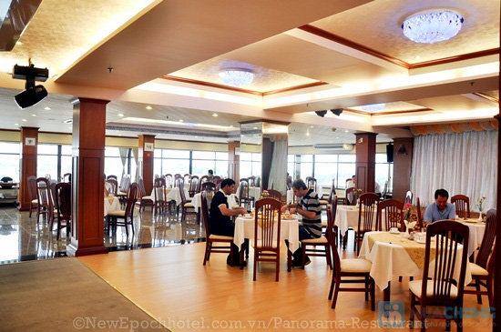 Buffet trưa tại Nhà hàng Panorama (Khách sạn 3 sao New Epoch) - Chỉ 139.000đ - 2