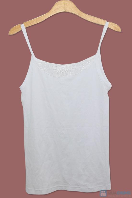 Combo 02 áo thun 2 dây cổ hoa dành cho nữ - Chỉ 59.000đ/01 Combo - 2